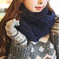 活泼可爱款针织围巾