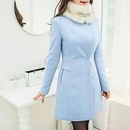 保暖淑女气质修身外套