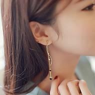 [购买拥堵]★银针★珍珠波长款耳环