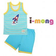 夏季新款 韩国正品 室内服  火箭图案 儿童套装