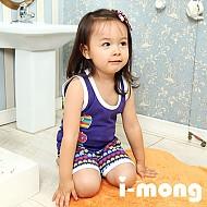 夏季新款 韩国正品 室内服  心形苹果图案 儿童套装