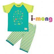夏季新款 韩国正品  室内服 字母游戏 儿童套装