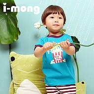 夏季新款 韩国正品  室内服 爆米花图案 儿童套装