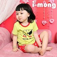 夏季新款 韩国正品  室内服 穿靴子的羊 儿童套装