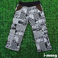 S/S企划新款 9分 橄榄球混色短裤