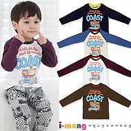 S/S企划新款 COAST 长袖T恤