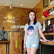 韩国进口纯棉COMME T恤