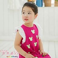 韩国设计师亲自打造 米老鼠高频夏季连衣裙